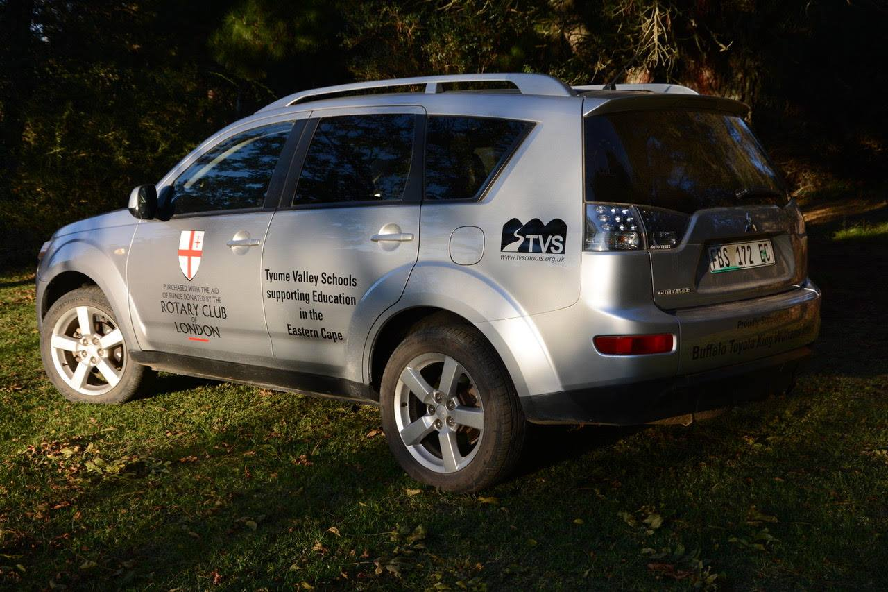 Car donated by London Rotary- click to return