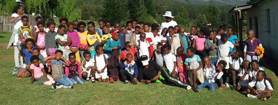 Children at Studycamp in Tyume Valley, Eastern Cape, South Africa